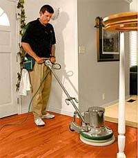 Dust FREE hardwood floor refurbishing